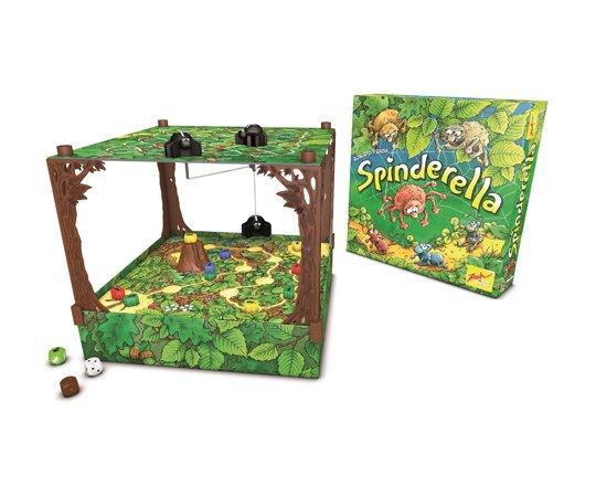 Spinderella Spiel-Box