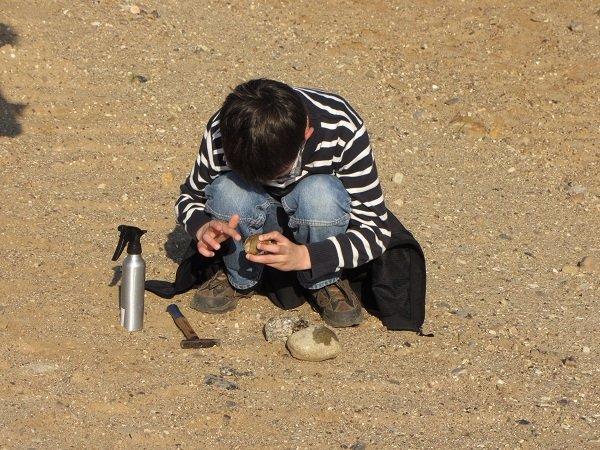 Schnupperexkursion: Die Taschen voller Steine