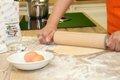 Kochschule Pasterherstellung