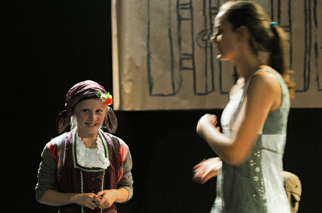 Workshop zu 'De Koh Rosmarie' im Ohnsorg-Theater