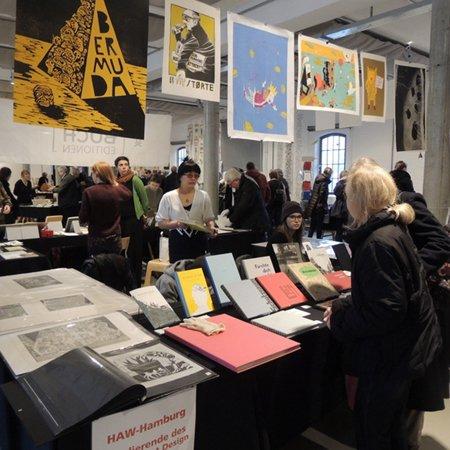 HAW Hamburg auf der Norddeutschen Handpressenmesse