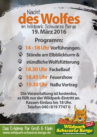 Programm Nacht des Wolfes
