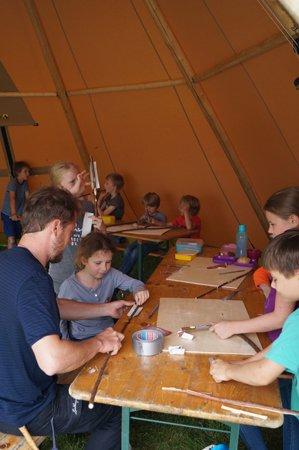 Sommerferienprogramm 2016 in der Wasserkunst Kaltehofe