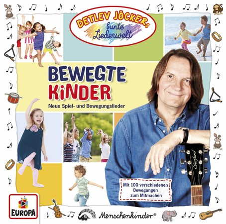 CD Cover Bewegte Kinder