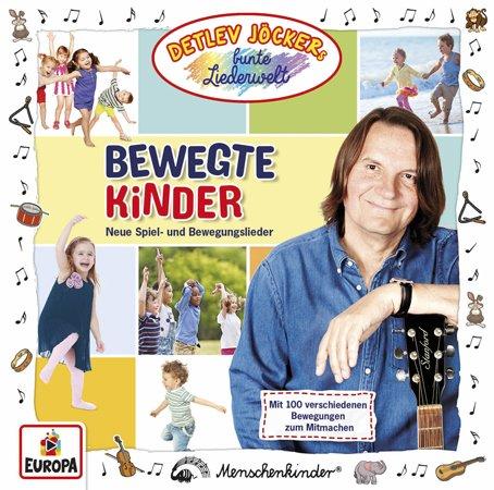 CD Cover Bewegte Kinder