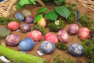 Kleine Eier-Kunstwerke der besonderen Art