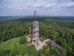 Drohnenansicht neuer Elbblickturm