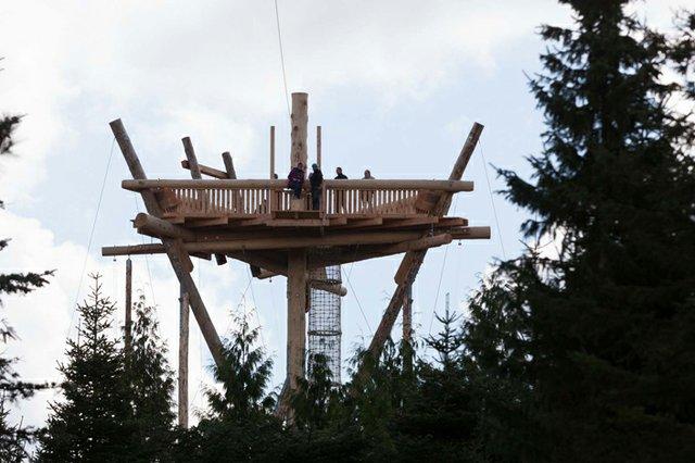 Tower im Trappenkamp