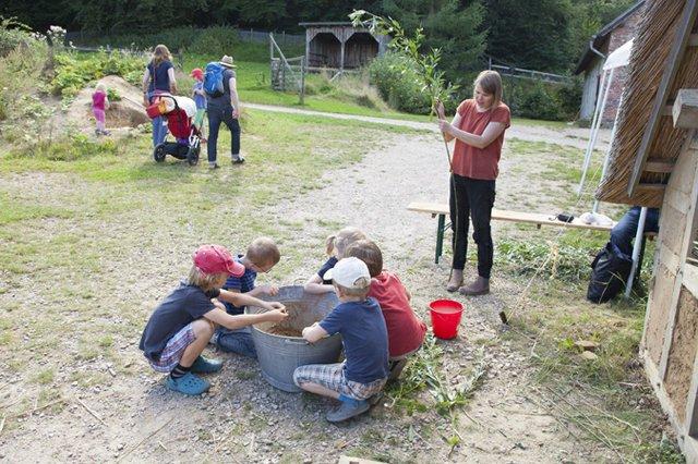 Sommerferienkurse am Kiekeberg
