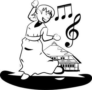 Lieder und Tanzmusik rund ums Dorfleben