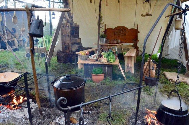 Das Lager der Wikinger