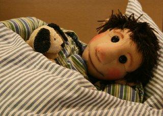 Bettmän kann nicht schlafen