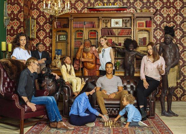 Migration-Familie
