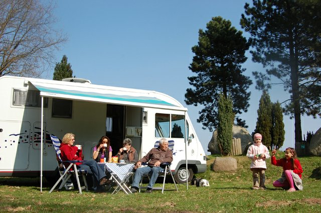 Wildpark-Camping Schwarze Berge Familie