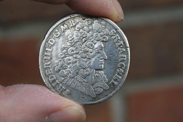 Münze aus Napoleons Silberschatz