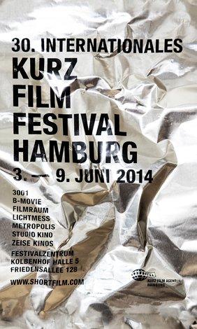 Plakat KurzFilmFestival Hamburg