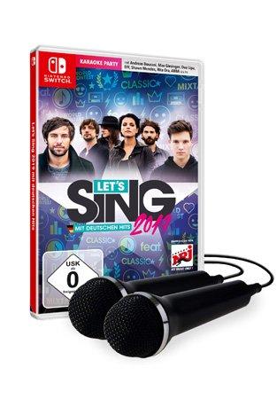 Let`s Sing 2019 für die Switch, mit 2 Mikros