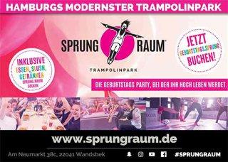Hamburgs Modernster Trampolinpark