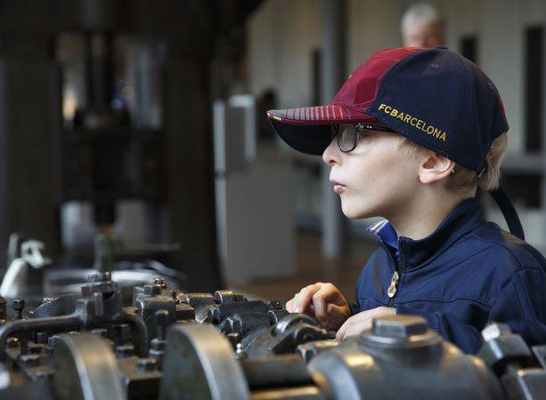 Metallwerkstatt im Museum der Arbeit