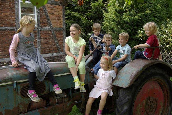 Ferien-Erlebnis-Tage auf dem Bauernhof