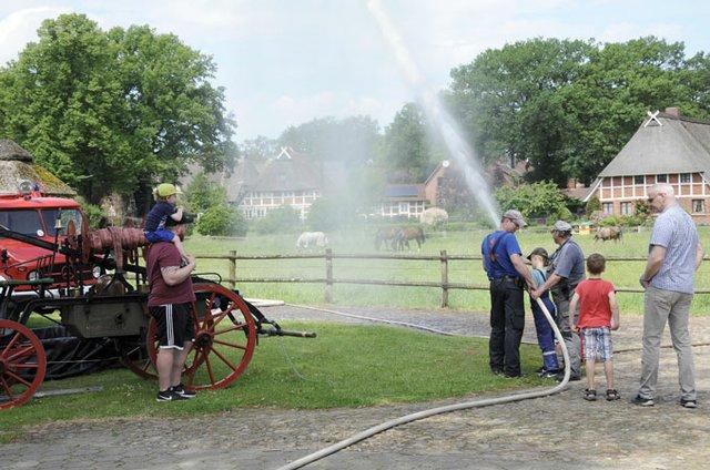 Ferienprogramm im Feuerwehrmuseum Marxen