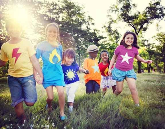 Das jährliche Kinderfest