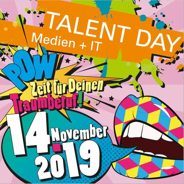 TALENT DAY Medien + IT 2019