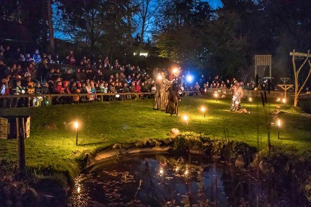 Buntes Halloween Fest im Wildpark Lüneburger Heide