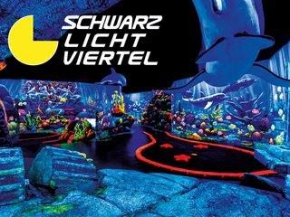 Deutschlands größte Schwarzlicht-Erlebniswelt