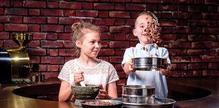 Schokoladiger Kindergeburtstag