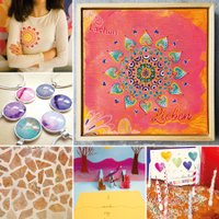 Geburtstagsfeier Atelier und Malschule Joy Perez