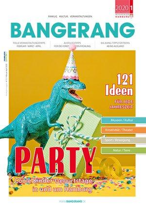 Bangerang Kindergeburtstag Titel