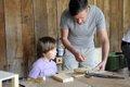 Werken mit Holz Sommerspaß