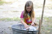 Sommerspaß Wäsche waschen