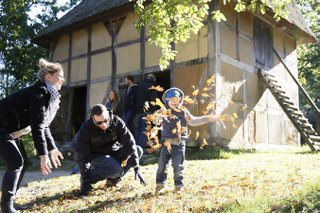 In den Herbstferien zum Kiekeberg