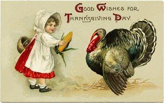 Thanksgiving  Girl Turkey