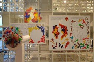 Raumansicht: Familienausstellung Magische