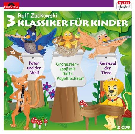 CD Cover 3 Klassiker für Kinder