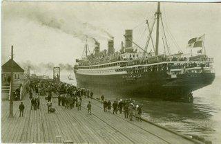 Dampfer RESOLUTE ca. 1924